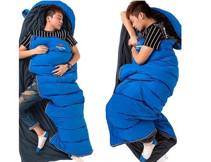 Sử dụng túi ngủ sẽ giúp bạn có một giấc ngủ sâu và thoải mái hơn