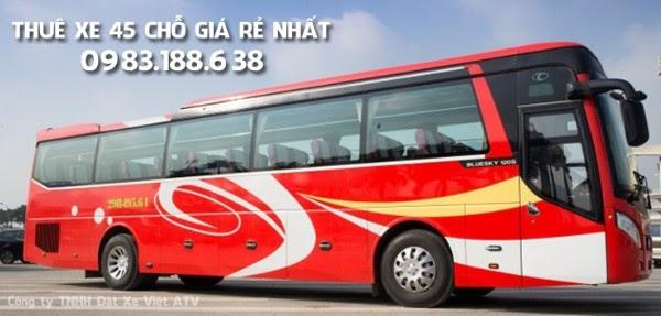 Thuê xe 45 chỗ theo tháng giúp tiết kiệm thời gian và chi phí cho khách hàng