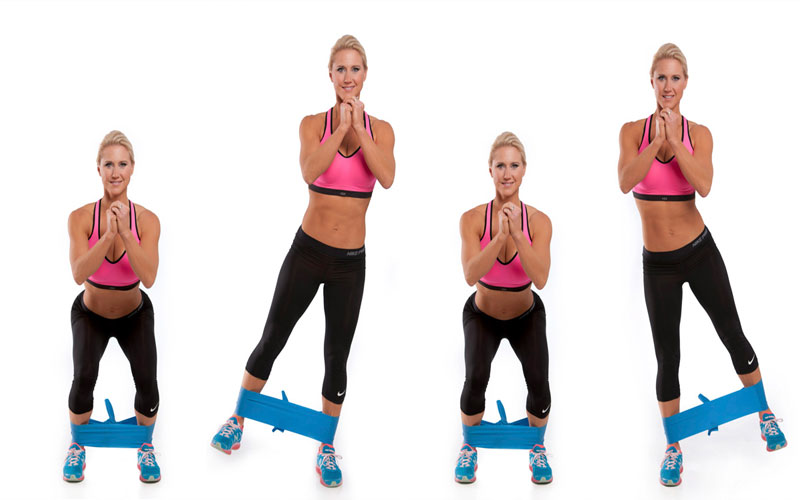Bài tập Squat Lateral Leg Lifts